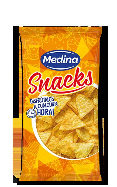 Salted nachos