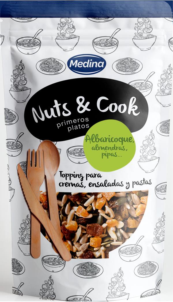 Nuts &Cook Primeros platos Orejón de Albaricoque