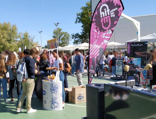 Nuts Time y Hit fm se unen para comenzar el curso en la Universidad Francisco de Vitoria