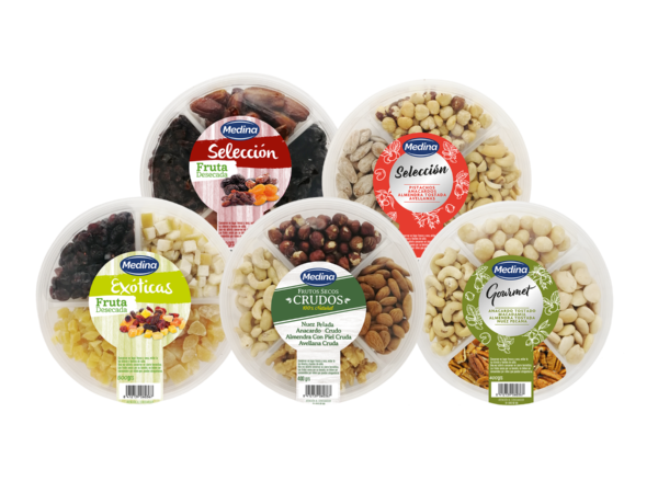 Aperitivos Medina amplía su gama de productos para la celebración de una Navidad más saludable y exótica