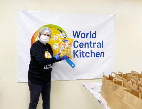 Aperitivos Medina colabora con World Central Kitchen y Pepa Muñoz
