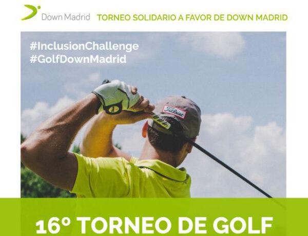 Aperitivos Medina presente en el torneo de golf de la Down Madrid