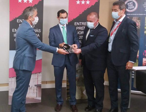 Carrefour entrega a Aperitivos Medina el premio a la PYME más innovadora de la Comunidad de Madrid