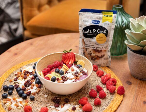 Bowl de Açai con Nuts & Cook Desayunos Coco