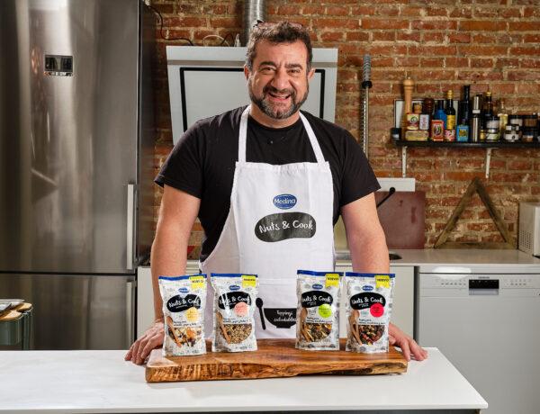 Sergio, el embajador de Nuts & Cook